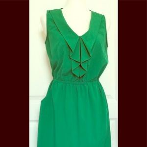 Kelly green dress nwot
